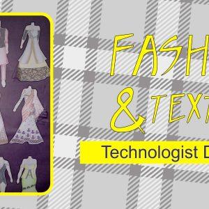 Technologist Diploma - Fashion & Textiles @SINGEM