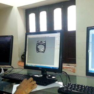 CAD Designing Classes going on @SINGEM