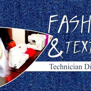 Fashion & Textiles - Technician Diploma @SINGEM