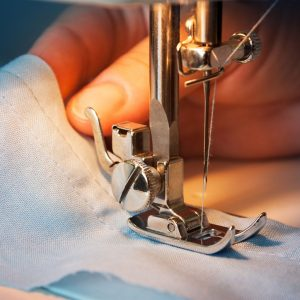 Stitching of a Gents Shirt by SINGEM students