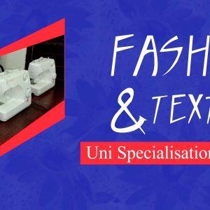 Uni Specialisation Diploma - Fashion & Textiles @SINGEM